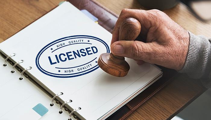 Juiste licenties