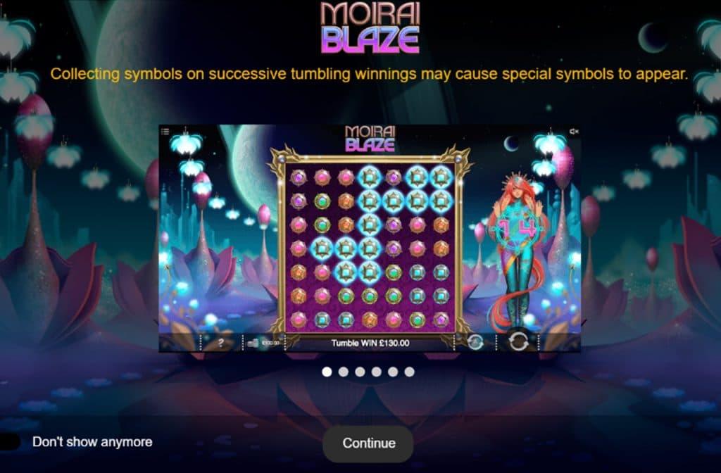 Moirai Blaze is gebaseerd op het Indiase lichtjes festival Diwali