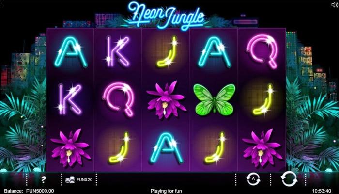 Neon Jungle Gameplay