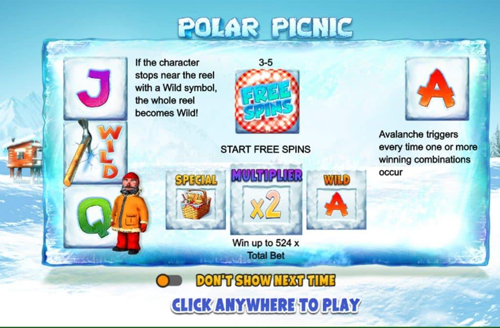 Polar Picnic is ontwikkeld door softwareprovider Fuga Gaming
