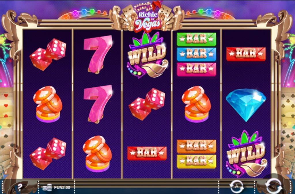 Richie in Vegas is een kleurrijk spel van Iron Dog Studio