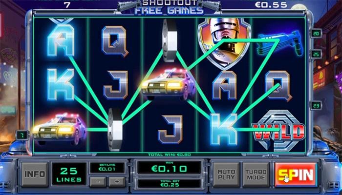 Robocop Gameplay
