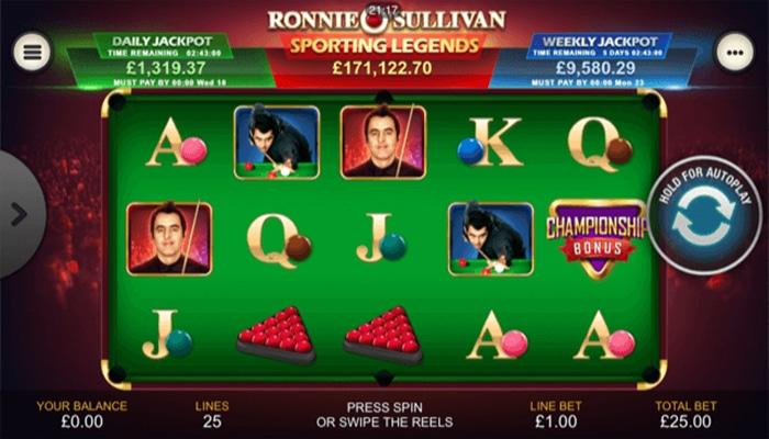 Ronnie O' Sullivan Gameplay