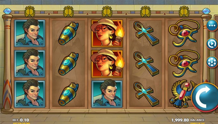 Temple of Tut Gameplay