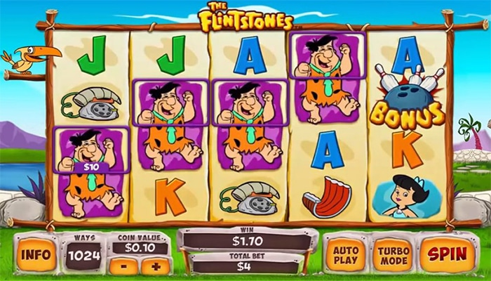 The Flintstones Gameplay