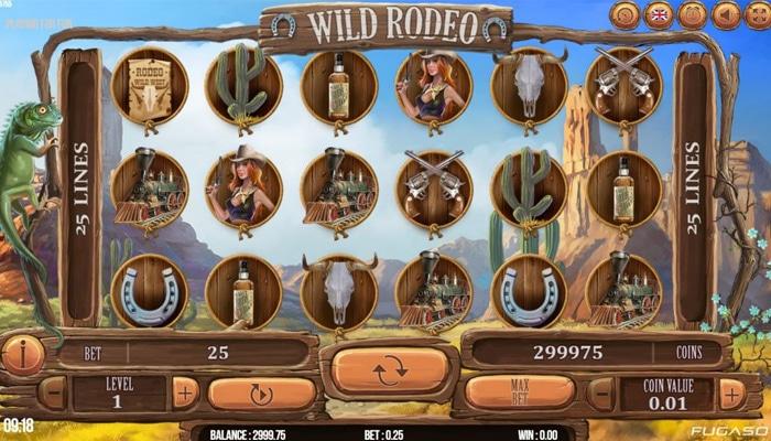 Wild Rodeo Gameplay