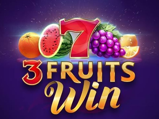 3 Fruits Win 10 lines Logo