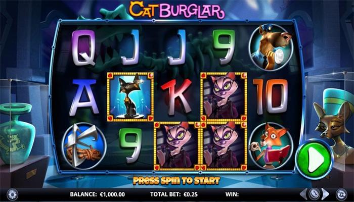 Cat Burglar Gameplay