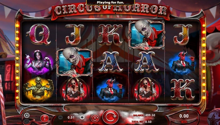 Circus of Horror Gameplay