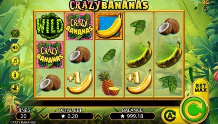 Crazy Bananas Gameplay