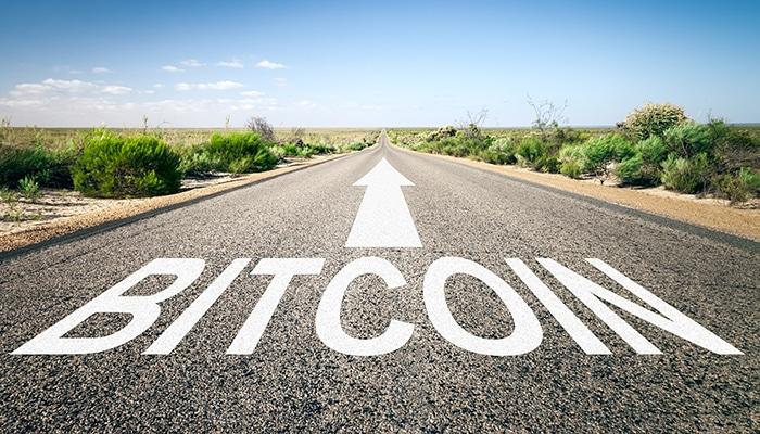 De route van de Bitcoin is voor iedereen onbekend