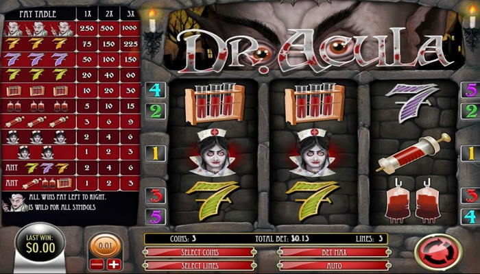Dr. Acula Gameplay