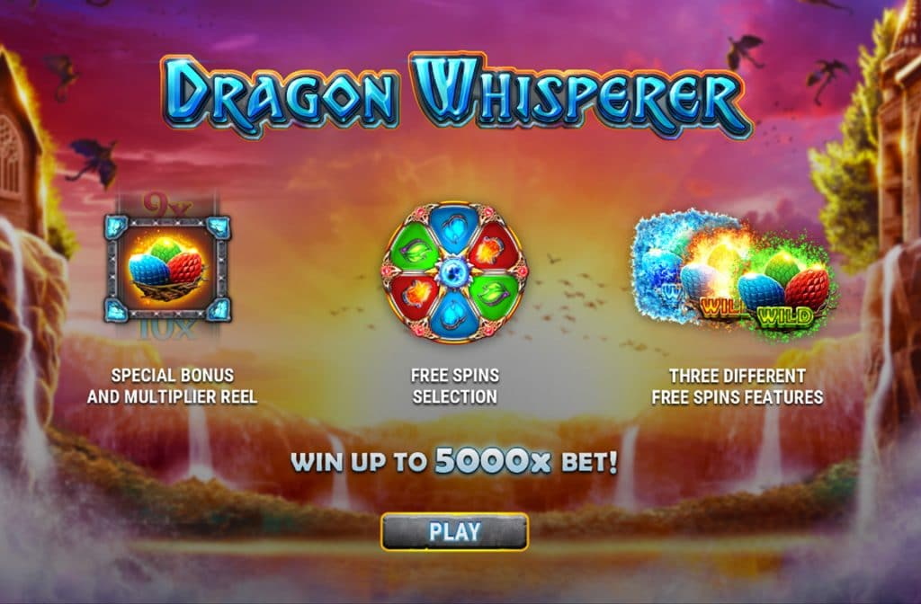 Er zijn diverse bonussen aanwezig bij Dragon Whisperer