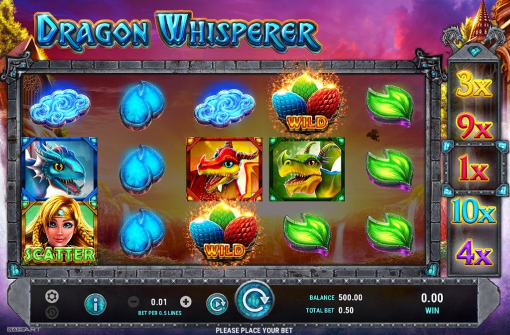 Dragon Whisperer is ontwikkeld door softwareprovider GameArt