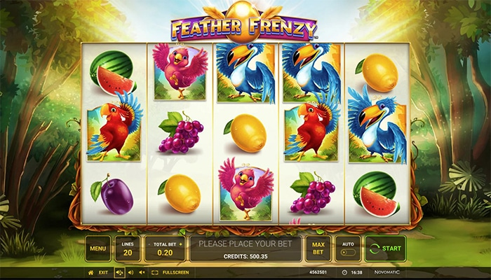 Feather Frenzy Gameplay