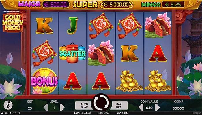Gold Money Frog Gameplay