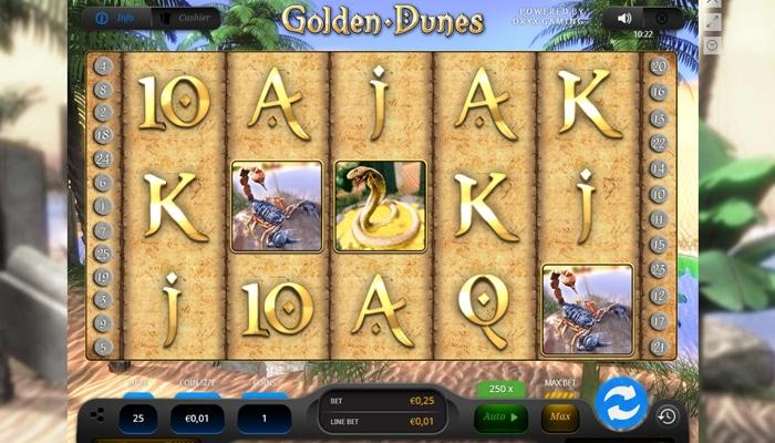 Golden Dunes Gameplay