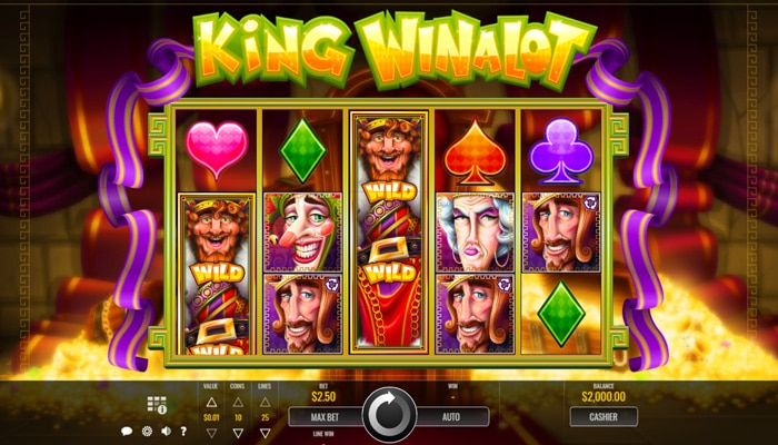 King Winalot Gameplay