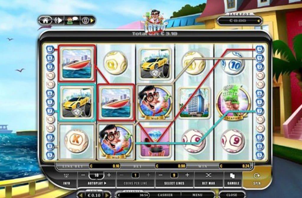 De Wild en Scatter symbolen zorgen voor winst bij Lotto is My Motto
