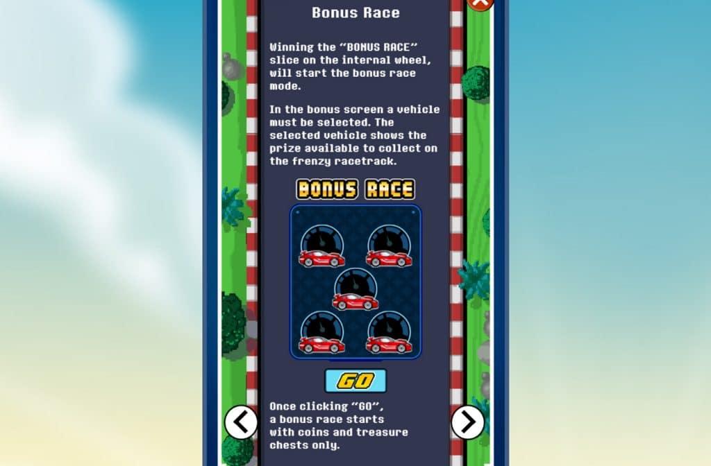 De Bonus Race bij Mega Money Rush zorgt voor mooie geldprijzen