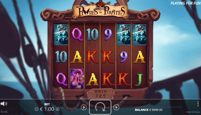 Pixies vs Pirates Gameplay