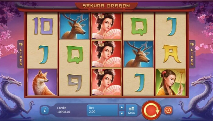 Sakura Dragon Gameplay