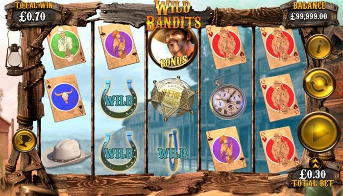 Wild Bandits Gameplay