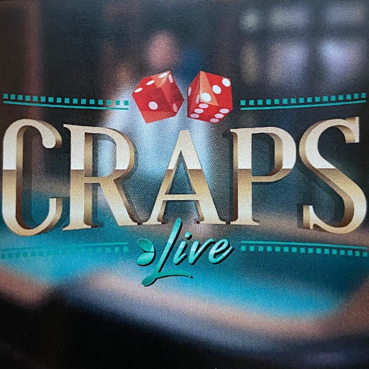 Craps Live van Evolution Gaming logo1