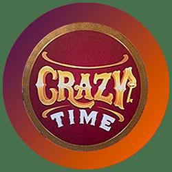 Crazy Time Evolution Gaming Logo rond png