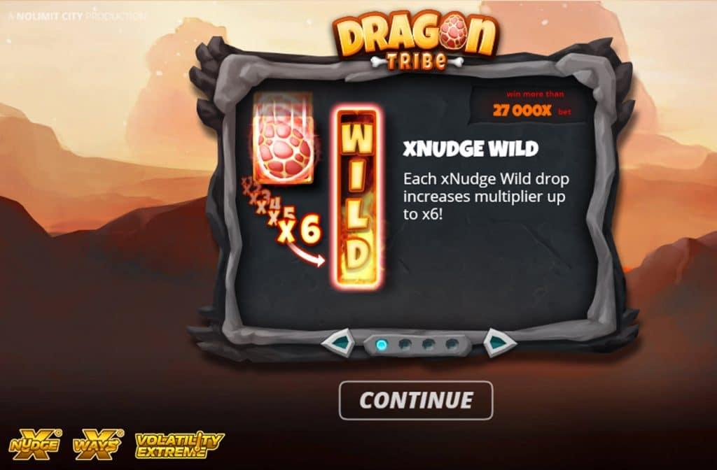 De Wilds bij Dragon Tribe kunnen ervoor zorgen dat je onderbroken combinaties compleet kunt maken