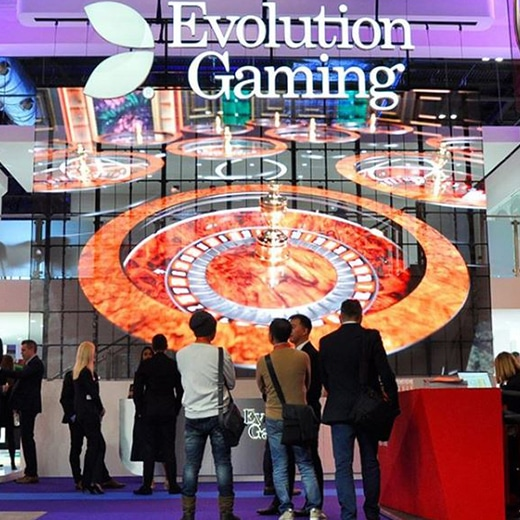 Evolution Gaming op ICE 2020