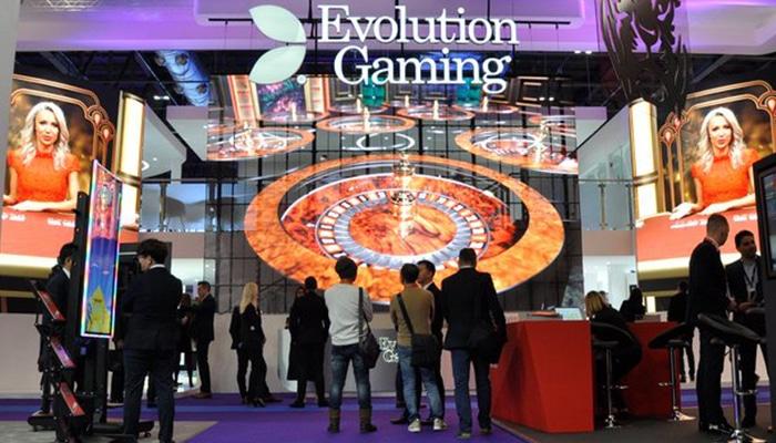 In London presenteerde Evolution Gaming op ICE haar nieuwe spellen