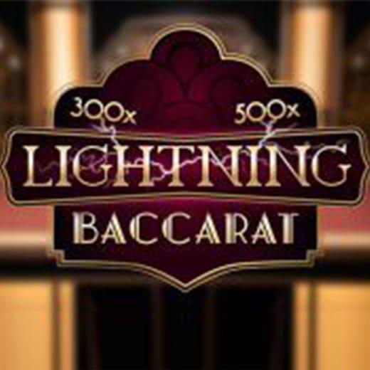 Lightning Baccarat logo