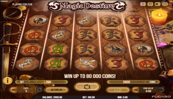 Magic Destiny Gameplay