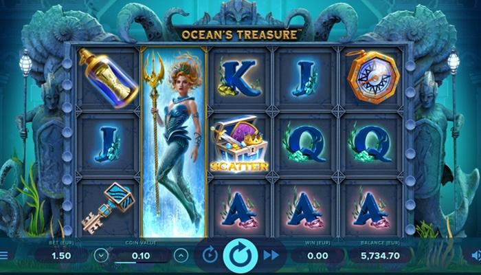 Ocean's Treasure Gameplay