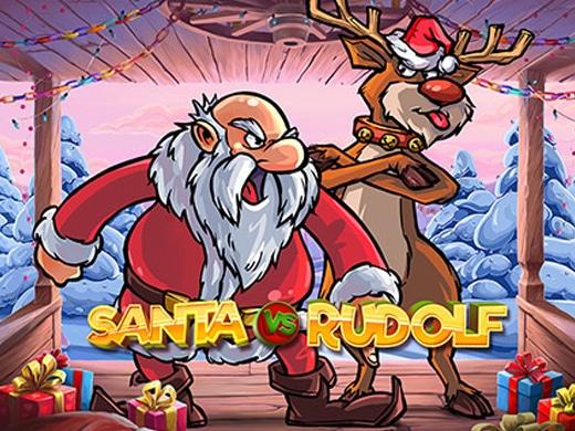 Santa VS Rudolf Logo1