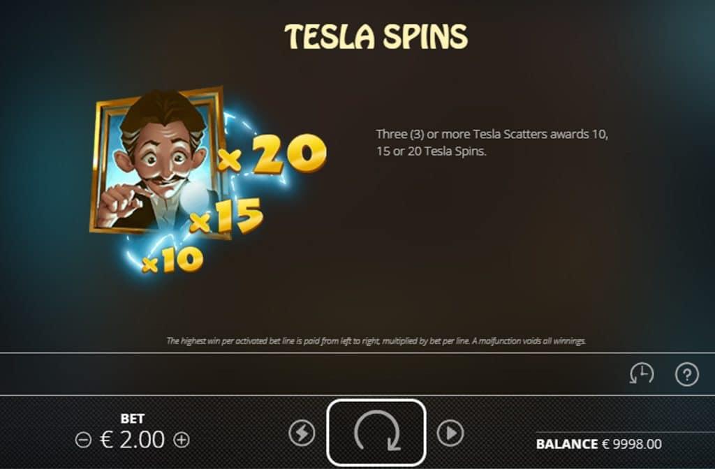 Door de Free Spins bonus kun je de rollen gratis laten draaien