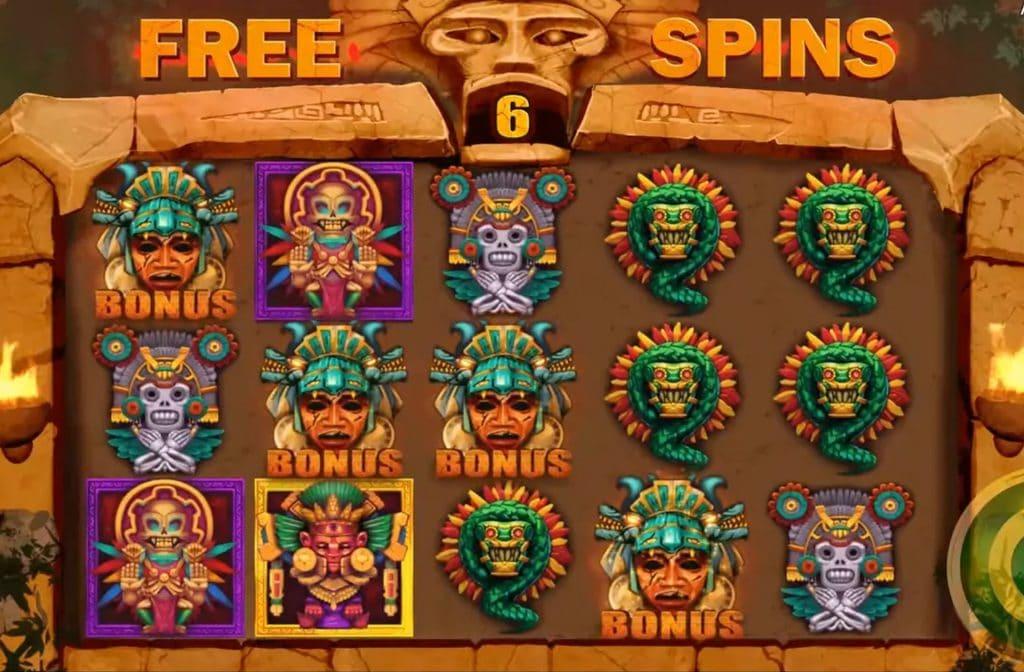 Door de Free Spins Bonus bij Aztec Palace kun je mooie geldprijzen winnen
