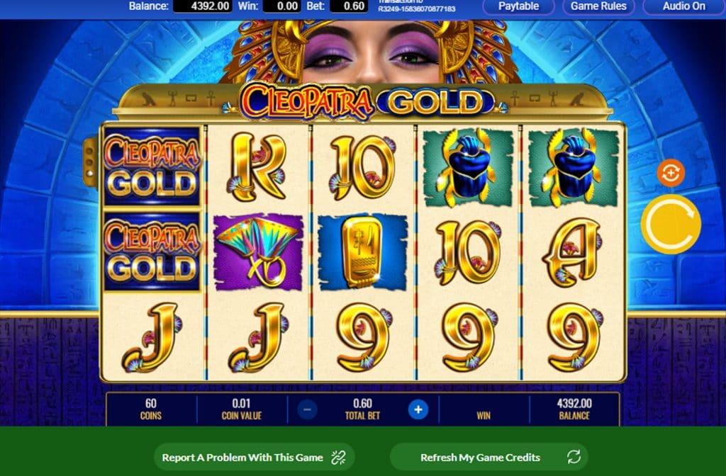 Bij Cleopatra Gold zijn er diverse bonussen aanwezig waar je mooie geldprijzen mee kunt behalen