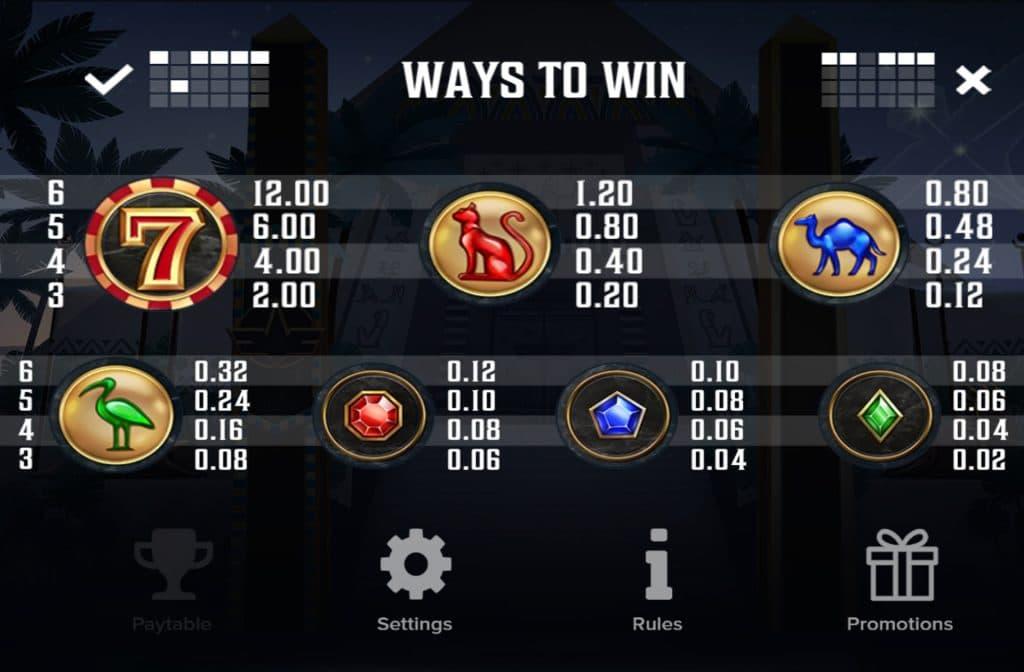 De Cygnus gokkast heeft maar liefst 4.096 winmanieren
