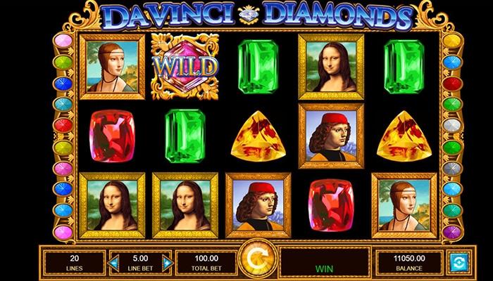 Da Vinci Diamonds Gameplay