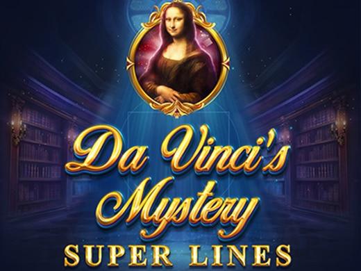 Da Vinci's Mystery Super Lines Red Tiger Logo