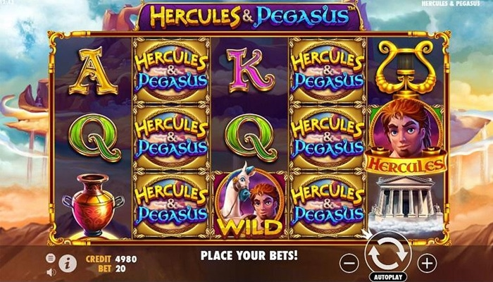 Hercules & Pegasus Gameplay