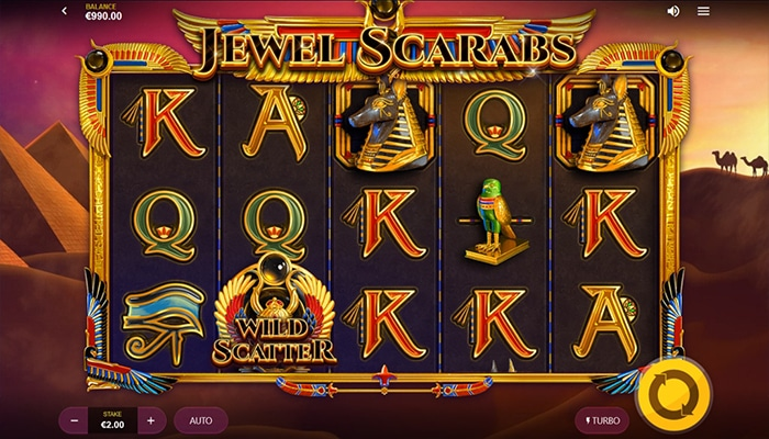 Jewel Scarabs Gameplay