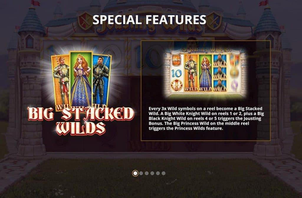 Heb je 3 Wild symbolen op een rol, dan maak je nog eens kans op extra mooie geldprijzen