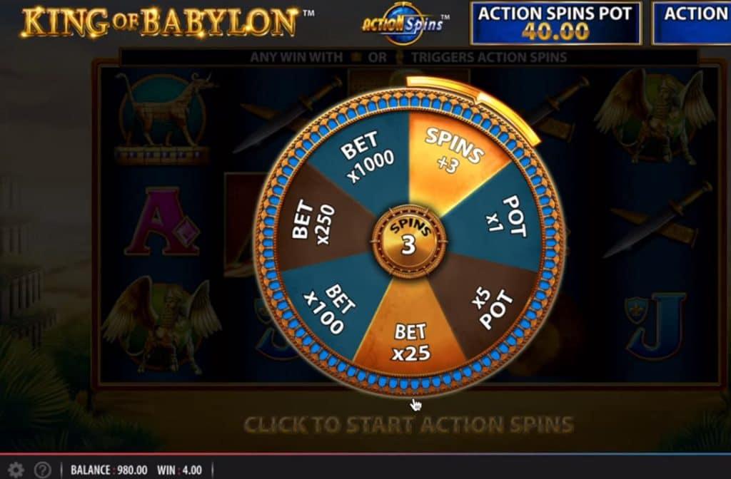 Door de diverse bonussen die er bij King of Babylon te vinden zijn, kun je mooie geldprijzen winnen