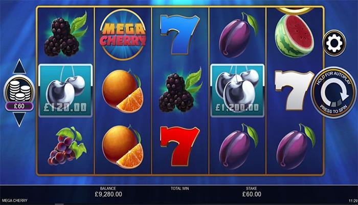 Mega Cherry Gameplay