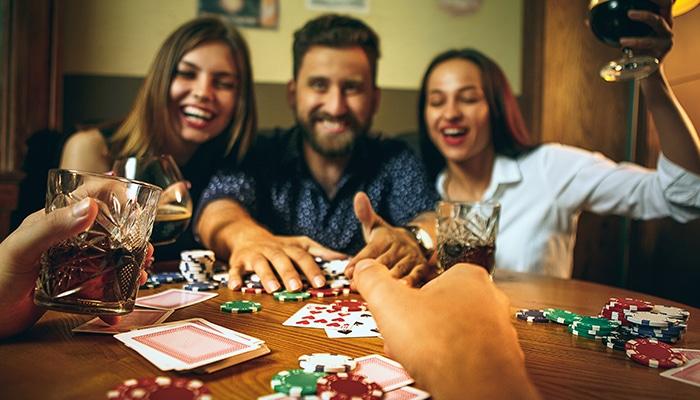 Met vrienden gokken is ook gewoon heel erg gezellig