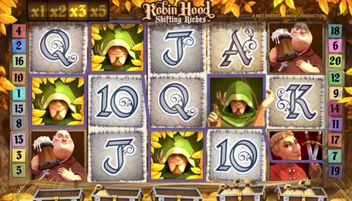 Robin Hood Shifting Riches Gameplay