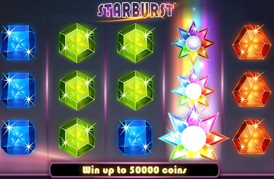 Spelen op Starburst